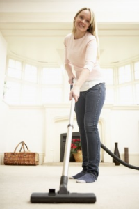Image of Keep floors vacuumed to reduce mold spores - Mold Solutions NW